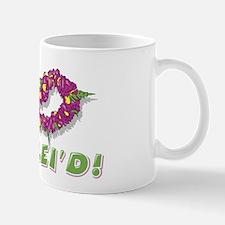 Get Lei'd! Funny Retro Print Mug