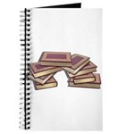 Stacked Books Gold leaf Journal