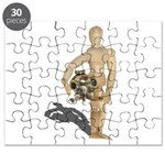 Holding Diving Helm Puzzle