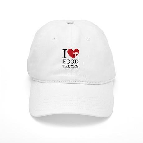 I Love Food Trucks Cap