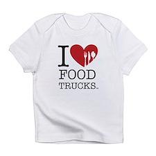 I Love Food Trucks Infant T-Shirt