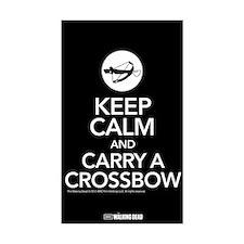 Keep Calm Carry a Crossbow Sticker