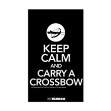 Keep Calm Carry a Crossbow Decal