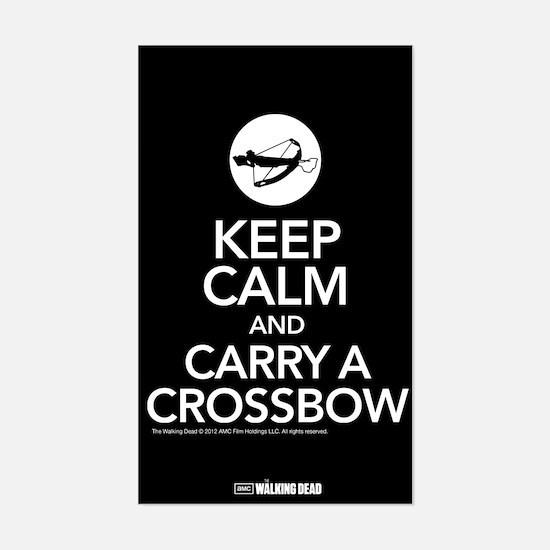 Keep Calm Carry a Crossbow Decal