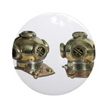 Diving Helm Ornament (Round)