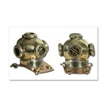 Diving Helm Car Magnet 20 x 12