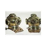 Diving Helm Rectangle Magnet (100 pack)