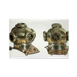 Diving Helm Rectangle Magnet (10 pack)