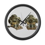 Diving Helm Large Wall Clock