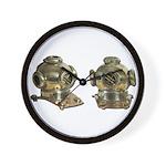 Diving Helm Wall Clock