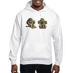 Diving Helm Hooded Sweatshirt