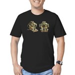 Diving Helm Men's Fitted T-Shirt (dark)