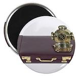 Diving Helm Briefcase Magnet