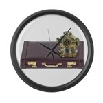 Diving Helm Briefcase Large Wall Clock
