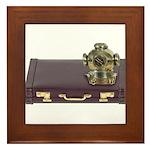Diving Helm Briefcase Framed Tile