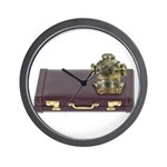 Diving Helm Briefcase Wall Clock