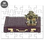 Diving Helm Briefcase Puzzle