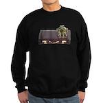 Diving Helm Briefcase Sweatshirt (dark)