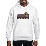 Diving Helm Briefcase Hooded Sweatshirt