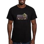 Diving Helm Briefcase Men's Fitted T-Shirt (dark)