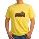 Diving Helm Briefcase Yellow T-Shirt
