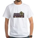 Diving Helm Briefcase White T-Shirt