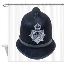 Police Bobby Hat Shower Curtain