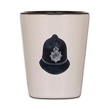 Police Bobby Hat Shot Glass