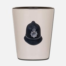Police Bobby Hat Shot Glass