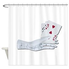 Palm Reading Cards Shower Curtain