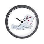 Palm Reading Cards Wall Clock