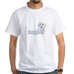 Palm Reading Cards White T-Shirt