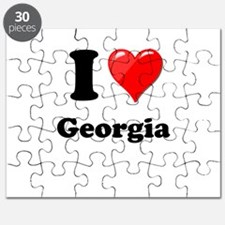 I Heart Love Geogia.png Puzzle