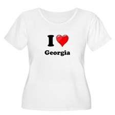 I Heart Love Geogia.png T-Shirt