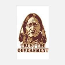 Government Rectangle Decal
