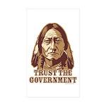 Government Rectangle Sticker 50 pk)