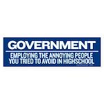 Government Bumper Sticker