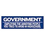 Government Bumper Sticker (10 pk)