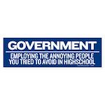 Government Bumper Sticker (50 pk)