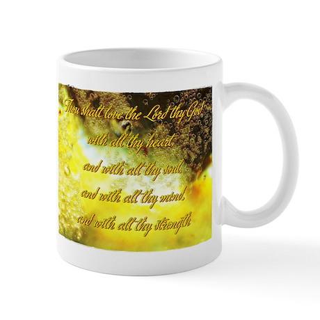 Love the Lord thy God Mug