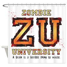 Zombie University Shower Curtain