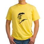 Windy Day Yellow T-Shirt