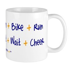 Triathlete vs. TriSupporter Mug