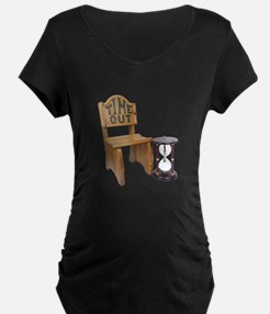 Timeout Chair Hourglass T-Shirt