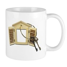 Shuttered Window Keys Mug