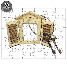 Shuttered Window Keys Puzzle
