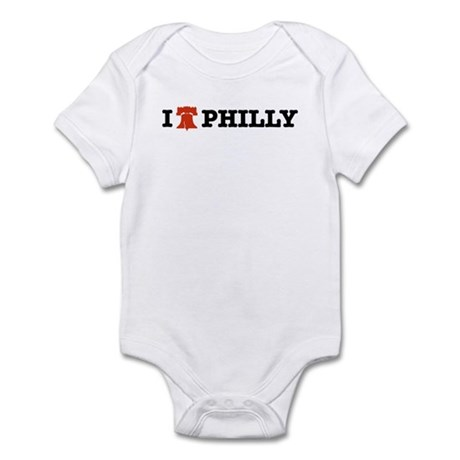 I Love Philly (Liberty Bell) Infant Creeper