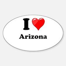 I Heart Love Arizona.png Decal