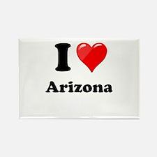 I Heart Love Arizona.png Rectangle Magnet