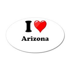 I Heart Love Arizona.png Wall Decal